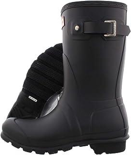 Hunter Boots 女 Original short 经典短雨靴 WFS1000RMA 黑色 38 (UK 5)