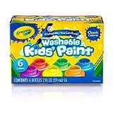 Crayola 绘儿乐 6色幼儿可水洗颜料 54-1204(新老包装更替 随机发货)