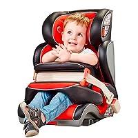 globalkids 环球娃娃 儿童安全座椅9个月-12岁前置护体isofix汽车用婴儿宝宝座椅 红黑色(供应商直送)