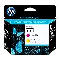 HP DesignJet 惠普 771C 原装打印机墨盒 覆盖范围高 (775 毫升) Druckkopf Druckkopf 品红/黄色