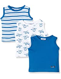 TWINS 婴儿男孩无袖汗衫,3件装