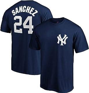 outerstuff MLB 青年8–20性能球队颜色播放器名字和号码针织 T 恤