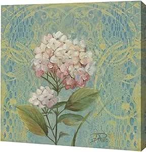 "PrintArt GW-POD-34-7297E-20x20 ""The Garden Flower I"" Patricia Pinto Gallery Wrapped Giclee 油画艺术印刷品 16"" x 16"" GW-POD-34-7297E-16x16"