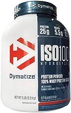 DYMATIZE 狄马泰斯 分离乳清蛋白 草莓味 2300g(进口)(特)