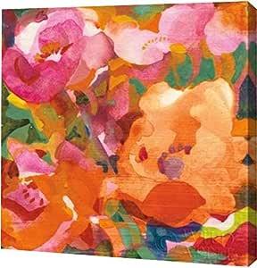 "PrintArt GW-POD-38-15620-20x20""Wild Beach Roses IV"" 由 Dusty Knight 画廊包边艺术微喷油画艺术印刷品 16"" x 16"" GW-POD-38-15620-16x16"