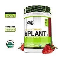 Optimum Nutrition Gold Standard * Organic Plant Based Vegan Protein Powder, Complete Amino Acid Profile, Berry, 19 Servings