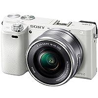 Sony 索尼 ILCE-6000L/W 微单™ 数码相机 单镜套装(E PZ 16-50mm F3.5-5.6 OSS)  (白色)