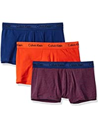 Calvin Klein 卡尔文·克莱恩 棉质弹力3件装低腰平角内裤