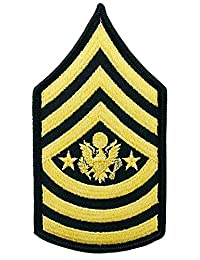 中士官 女官 SMA E-9 雪佛龙 蓝色 女性 (一对)
