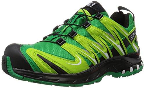 人生总要有点儿绿—SALOMON 萨洛蒙 XA PRO 3D GTX 越野跑鞋 开箱及处女秀