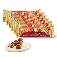 Caffarel 口福莱 榛仁夹心牛奶巧克力制品33g*6(意大利进口)(亚马逊自营商品, 由供应商配送)