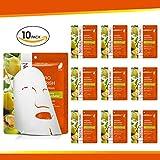 Natural Solution 8234E-10PK Hydro 滋养丝绸面膜,Marula 和乳木果油,25 克