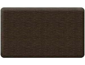 Take Ten Anti-Fatigue Kitchen Comfort Mat Bamboo Weave Cocoa 18X30
