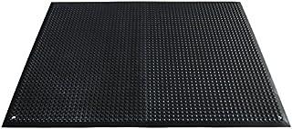Miltex Floor 17073 瑜伽人体工程学,95 x 125 厘米 ESD 版包括 Ableitkabel,防静电,黑色