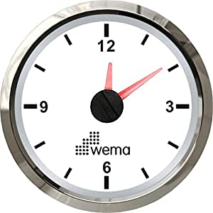 WEMA USA IMCR-WS Quartz Clock