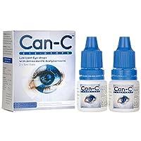 Can-C 眼部滴 5 毫升液体(2 合 1 包) 1 box - 2 (5ml) vials 1