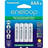 Panasonic松下 BK-4MCCA8BA Eneloop爱乐普 AAA 2100 循环镍氢预充电电池 8支装