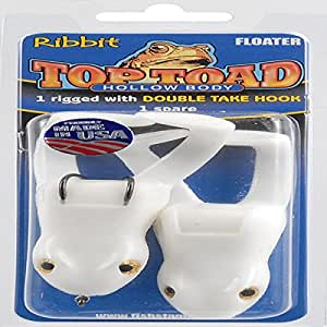 Stanley Top Toad White Rigged, 2-Pack