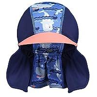 Pop-in Peaked 太阳帽 XL 码鲸鱼