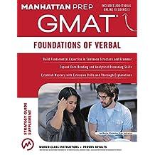 GMAT Foundations of Verbal (Manhattan Prep GMAT Strategy Guides) (English Edition)