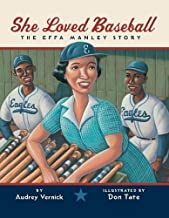 She Loved Baseball: The Effa Manley Story (English Edition)