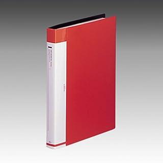 LIHIT LAB. LINEST 名片册<更换型>A4S 540カード 红色