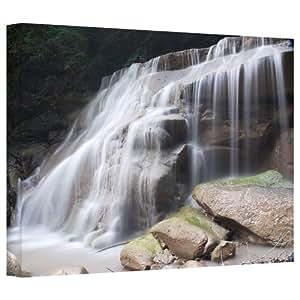 Art Wall 'New York-rattlesnake Gulf Waterfall' Gallery Wrapped Canvas Art By Dan Wilson 24X36