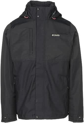 Columbia 夹克 OF ALL trades–男式 黑色 X-Large