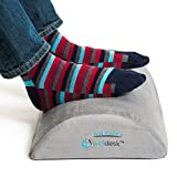 Rest My Sole - 下台脚休息垫 - 符合人体工程学的脚踏在家里或办公室时会爱上您的双脚 - 弹性舒适泡沫,防滑底面和低调设计带来*佳腿间隙