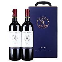 拉菲罗斯柴尔德 特藏波尔多干红葡萄酒 750ml*2 双支礼盒装(ASC)(法国进口红酒)