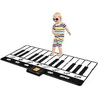键盘游戏垫30.48cm–24键钢琴游戏垫–钢琴车垫 HAS 记录播放 DEMO 扮演可调节 VOL.–原创–由 play22
