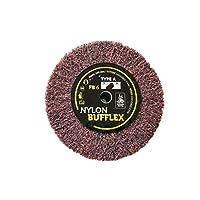 Bufflex Flap Wheel 精细磨光盘,180 精细 100 x 25 毫米
