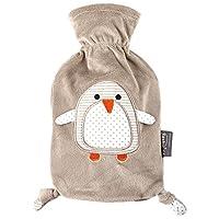 fashy 费许 小企鹅卡通图案外套热水袋 6513 灰色0.8L 德国进口