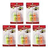 Pearhead 婴儿家居安全防护 门档系列蜗牛门档10个装 超萌超可爱的门档