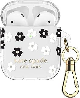 Kate Spade New York Airpods 弹性手机壳 - 散花黑/白/金色锡箔/半透明白/黑色徽标/优质金色饰品