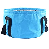 HOOYEE 多功能可折叠便携式旅行户外洗水盆折叠桶 露营徒步旅行旅行钓鱼