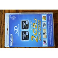 Olympus M+ 2 GB xD-Picture Card 闪存卡 2 张装 202233