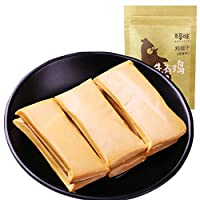 BE&CHEERY 百草味 鸡蛋干200gx2袋(卤香味 独立小包 鸡蛋 零食 特产)