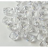 4 毫米透明施华洛世奇双锥体珠 Xillian 144 件施华洛世奇元素水晶粉刺经销商 Xillion Cut 5328