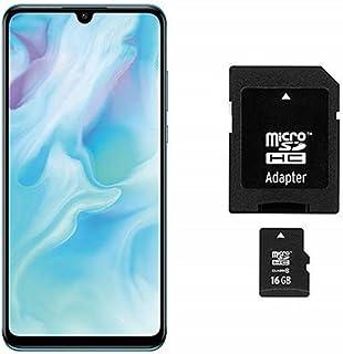 华为 P30 lite Dual-SIM 智能手机(6.15 英寸,128 GB ROM,4 GB RAM,Android 9.0)带 SD 卡[亚马逊*] - 德国版51094BQQ  Smartphone Breathing Crsytal