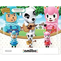 Mabel Amiibo(动物穿越系列) Animal Crossing 3-Pack USA