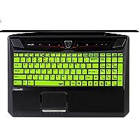 Leze - 超薄硅胶键盘保护膜适用于 MSI 16GA GT60 CR61 CX61 GE60 GE60H GE60PH GP60 GX60 GT60 GX60 CR70 GP70 GE70 GT70 Z70 GT780 GT780DX GT780DXR 游戏笔记本电脑