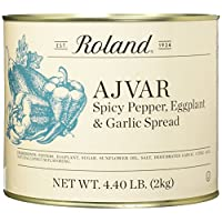Roland Foods Ajvar Spicy Pepper, Eggplant & Garlic Spread, 4.40 Pound