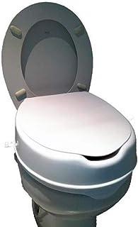 马桶增高,带盖子   卫生和耐用   马桶增高功能 白色