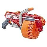NERF Megalodon N-Strike Mega 玩具玩具枪,带 20 枚官方 Mega Whistler 飞镖,包括:玩具枪、鼓、20 颗飞镖和说明