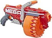 NERF Megalodon N-Strike Mega 玩具玩具枪,带 20 颗官方 Mega Whistler 飞镖