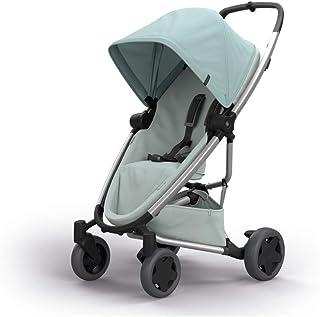 Quinny Zapp Flex Plus 嬰兒車,時尚嬰兒車,舒適靈活,輕便且非常緊湊,可折疊,適合出生時使用(例如帶 Lux 嬰兒床),不同款 顏色 frost on grey