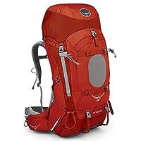 Osprey 精灵 户外背包 Ariel 红色 XS码 女款耐用户外徒步穿越登山越野双肩重装背包带防雨罩轻量背包 三年质保终身维修