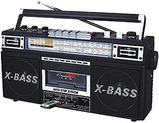 QFX J-22UBK ReRun X Radio and Cassette to MP3 Converter - Black