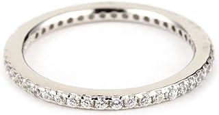 Myia Passiello Stackables R2735101_120_058 纯银 926 方晶锆石戒指 尺码 R